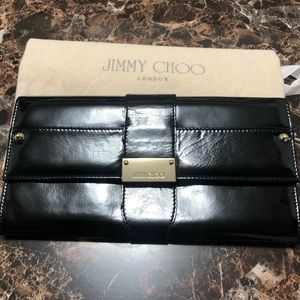 Jimmy Choo Clucth patent for sale❤️